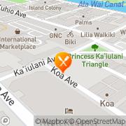 Map Burger King - Closed Honolulu, United States