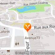 Carte de LE VILLO Guer, France