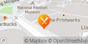 Map Hard Rock Cafe Manchester, United Kingdom
