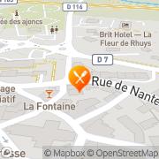 Carte de DELIFRANCE Theix, France