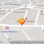 Map Casa de Granada Madrid, Spain
