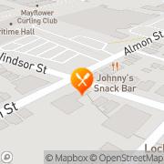 Map Brooklyn Warehouse Halifax, Canada