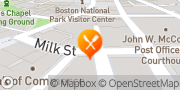 Map Così Boston, United States