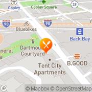 Map Firefly Boston, United States