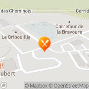 Carte de Rôtisserie St-Hubert Wendake, Canada