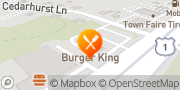 Map Burger King Milford, United States