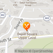Map Putnam House Restaurant & Tap Room Bethel, United States