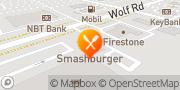 Map Smashburger Colonie, United States