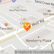 Map Fuddruckers Colonie, United States