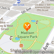 Map Shake Shack New York, United States