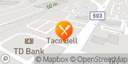 Map Taco Bell Montvale, United States