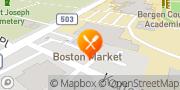 Map Boston Market Hackensack, United States