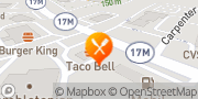 Map Taco Bell Chester, United States