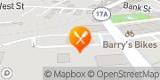 Map Burger King Warwick, United States