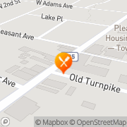 Map Master Food Time Pleasantville, United States