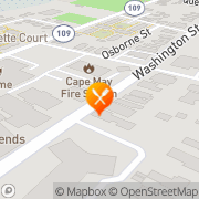 Map The Blue Rose Inn & Restaurant Cape May, United States