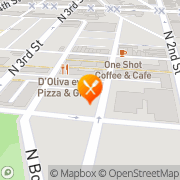 Map Swallow Philadelphia, United States