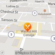 Map The Restaurant School At Walnut Hill College Philadelphia, United States