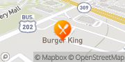 Map Burger King North Wales, United States