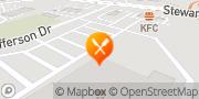 Map KFC Brockville, Canada