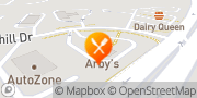 Map Arby's Middletown, United States