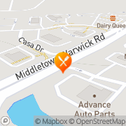 Map Taco Bell Middletown, United States