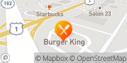 Map Burger King Fallston, United States