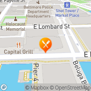 Map Fogo de Chão Brazilian Steakhouse Baltimore, United States