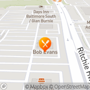 Map Bob Evans - CLOSED Glen Burnie, United States