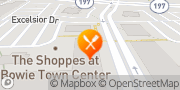 Map Panera Bread Bowie, United States