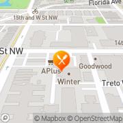 Map Cada Vez Resturant Washington, United States