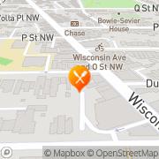 Map Georgetown Dinette Washington, United States