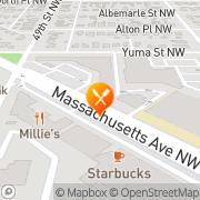 Map Wagshal's Delicatessen Washington, United States