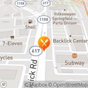 Map Il Buon Gusto Ristorante Springfield, United States