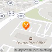 Map Bob Evans Oakton, United States