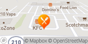 Map Taco Bell Benson, United States