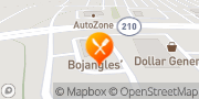 Map Bojangles' Famous Chicken 'n Biscuits Benson, United States