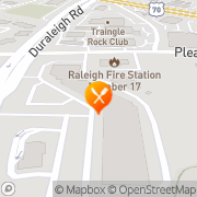 Map The Dancer's Workout Raleigh, United States