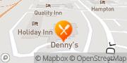 Map Denny's Lumberton, United States