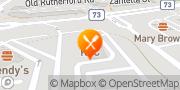 Map Pizza Hut Maple, Canada