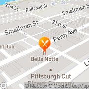 Map Rolands Catering Pittsburgh, United States