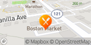 Map Boston Market Pittsburgh, United States