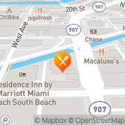 Map Boston Market Miami Beach, United States