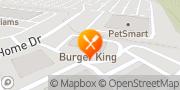Map Burger King Pittsburgh, United States