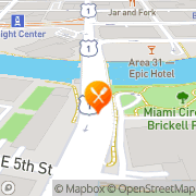 Map The Capital Grille Miami, United States