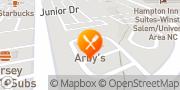 Map Arby's Winston-Salem, United States