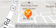 Map Arby's New Castle, United States