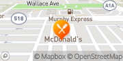 Map McDonald's Melbourne, United States