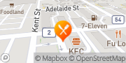 Map KFC Woodstock, Canada