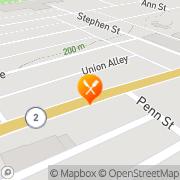 Map Paradise Pizza Paden City, United States